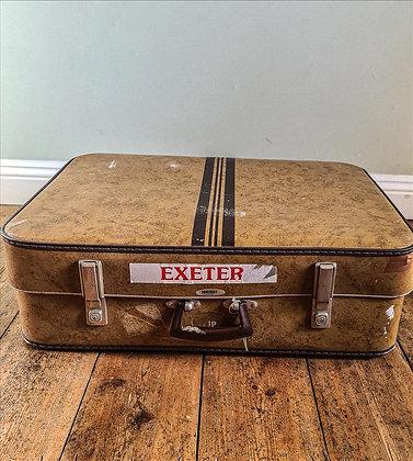 Retro suitcase large
