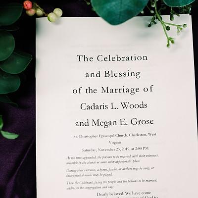 Megan & Cadaris - Wedding