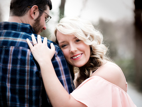 Carly & Josh's Engagement Session in Charleston, WV