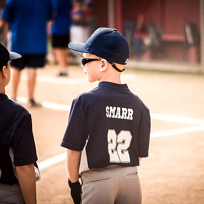 Clayton's Baseball Game