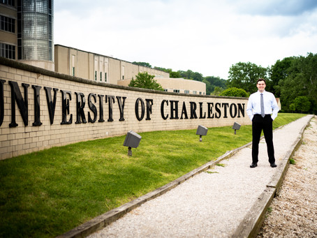 Brandon's Graduation from University of Charleston