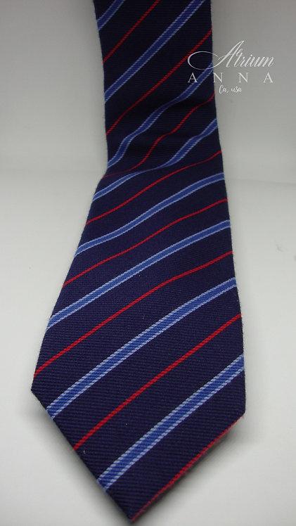 Unione 5 Italia Striped Wool and Silk Tie