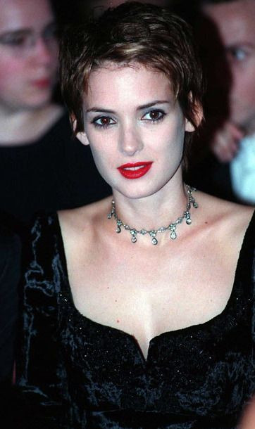 Winona Rider in chokers in the 90s