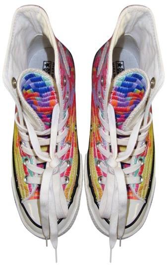 Converse Mara Hoffman High Top Sneakers by Atrium Anna