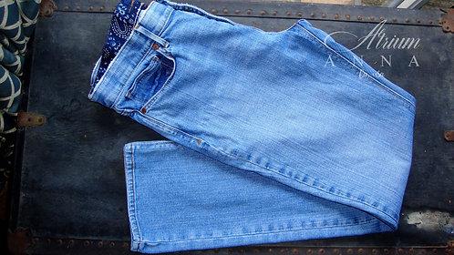 Levi's The Original Straight 525 Vintage Blue Jeans, 12M