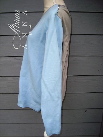 Prada Baby Blue Top
