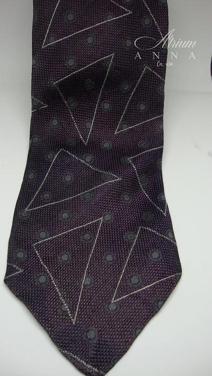 Talbott Studio for Irwin Robert Talbott Silk Vintage 60s Tie with Triangle Patte