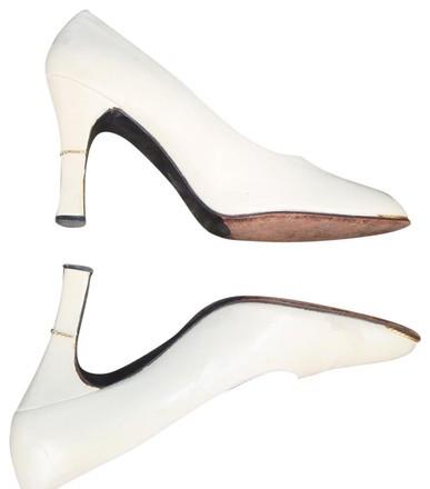 Baleciaga Custom Made Vintage Leather Heels by Atrium Anna