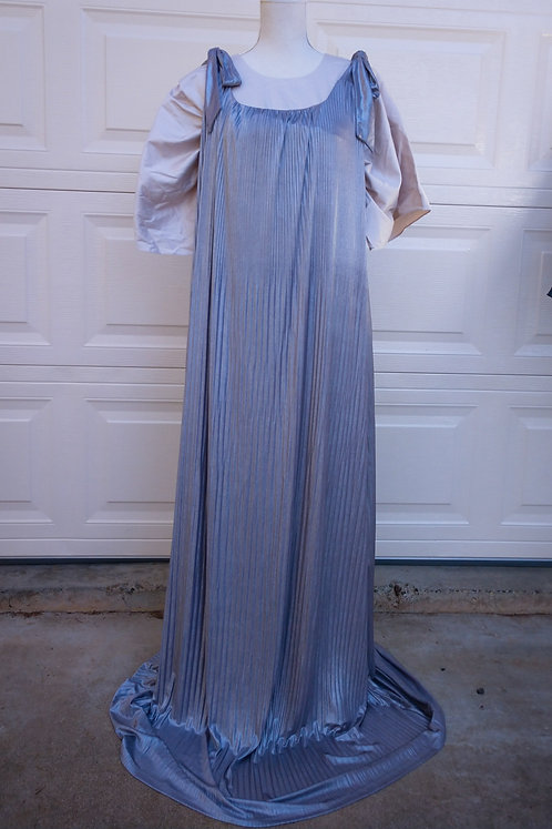 Ermanna two-in-one theatrical maxi dress