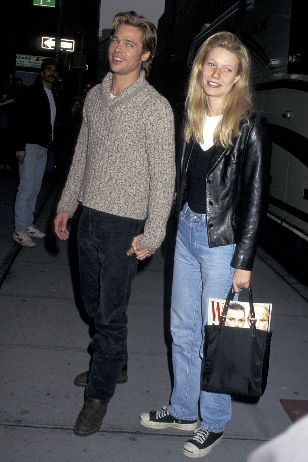 Gwyneth Paltrow wearing Converse in the 90s
