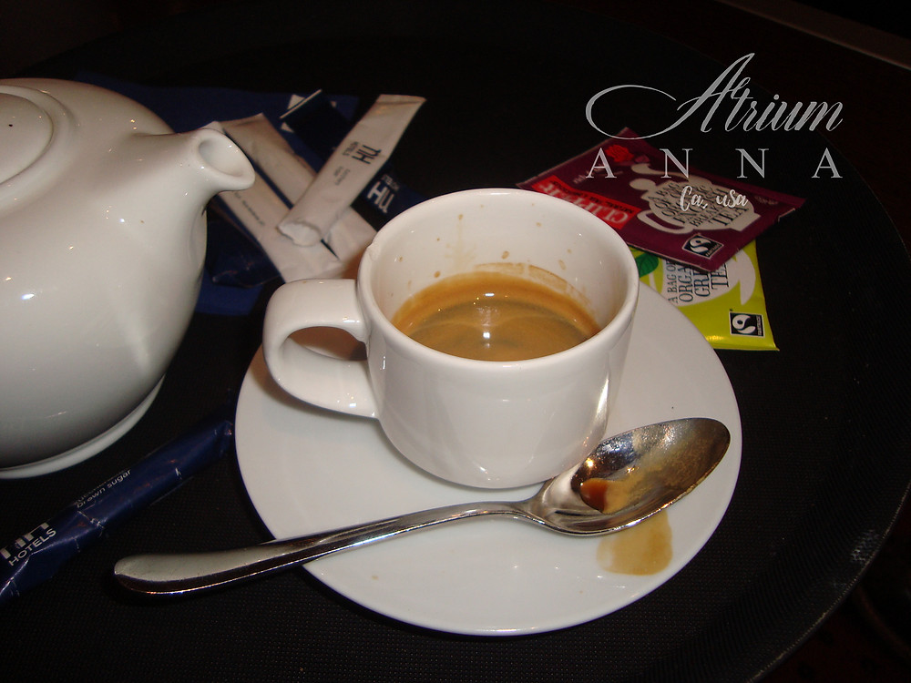 A cup of cofee in Milan