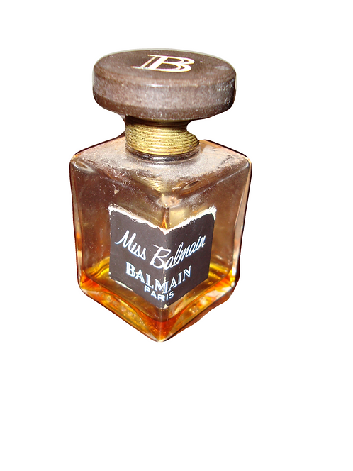 Miss Balmain Paris Pure Parfum Extract (1% left) Crystal Bottle