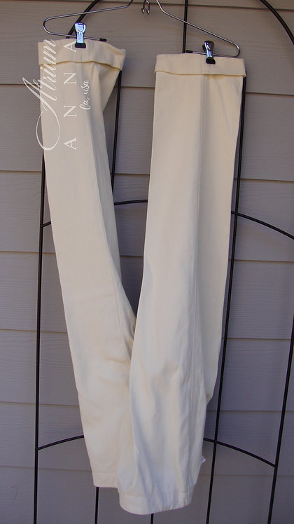 Brooks Brothers Country Club Beige Vintage Cotton Capri Pants, 6