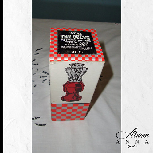 The Queen Chess Piece Deep Woods Aftershave For Men