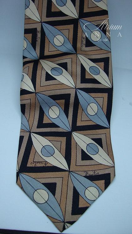 Emilio Pucci Saks Fifth Avenue 100% Silk Vintage Tie