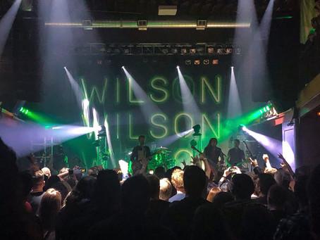 Thank you, Goodnight! Love Wilson