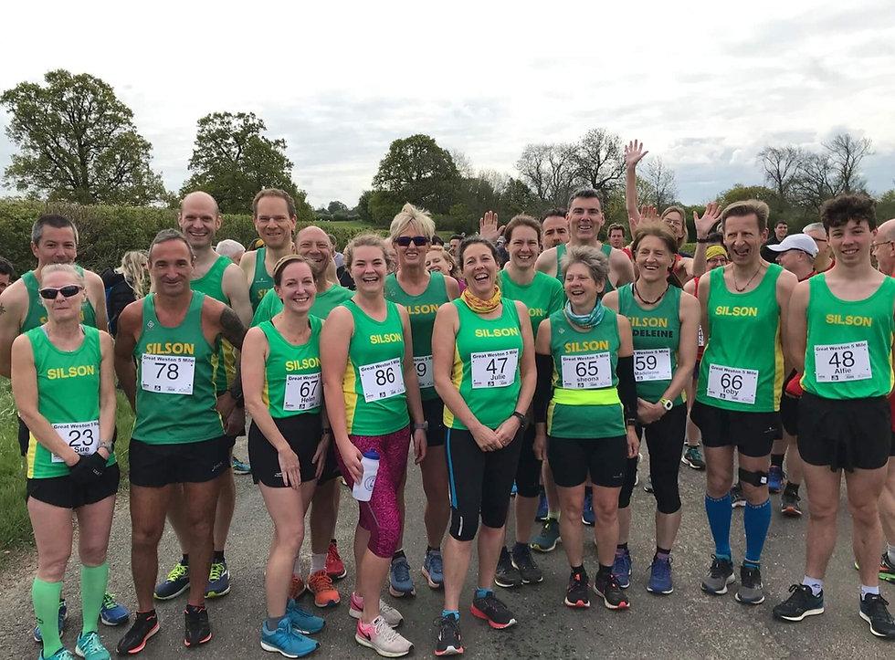 Silson Athletics Club Members Event Photo