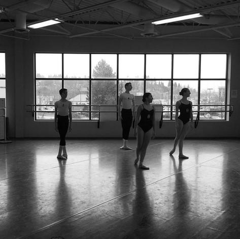 Ballet exam ready