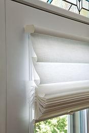 Hunter Douglas Vignette Modern Roman Shades Carhart Interior Designs Carhart Kitchen & Bath
