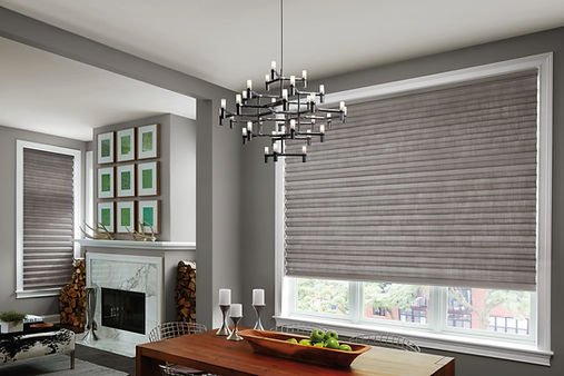 Hunter Doulas Solera Soft Shades Carhart Interior Designs