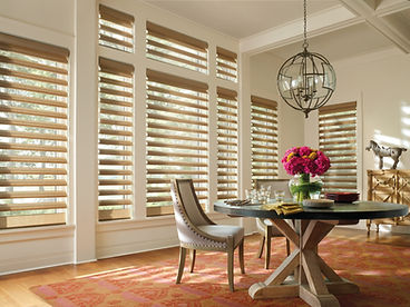 Hunter Douglas Pirouette Window Shades Carhart Inteior Designs Carhart Kitchen & Bath