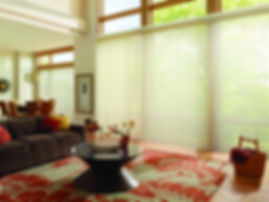 Hunter Douglas Luminette Privacy Sheers Carhart Interior Designs