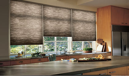 Duette Honeycomb Shades Hunter Douglas Carhat Interior Designs Carhart Kitchen & Bath