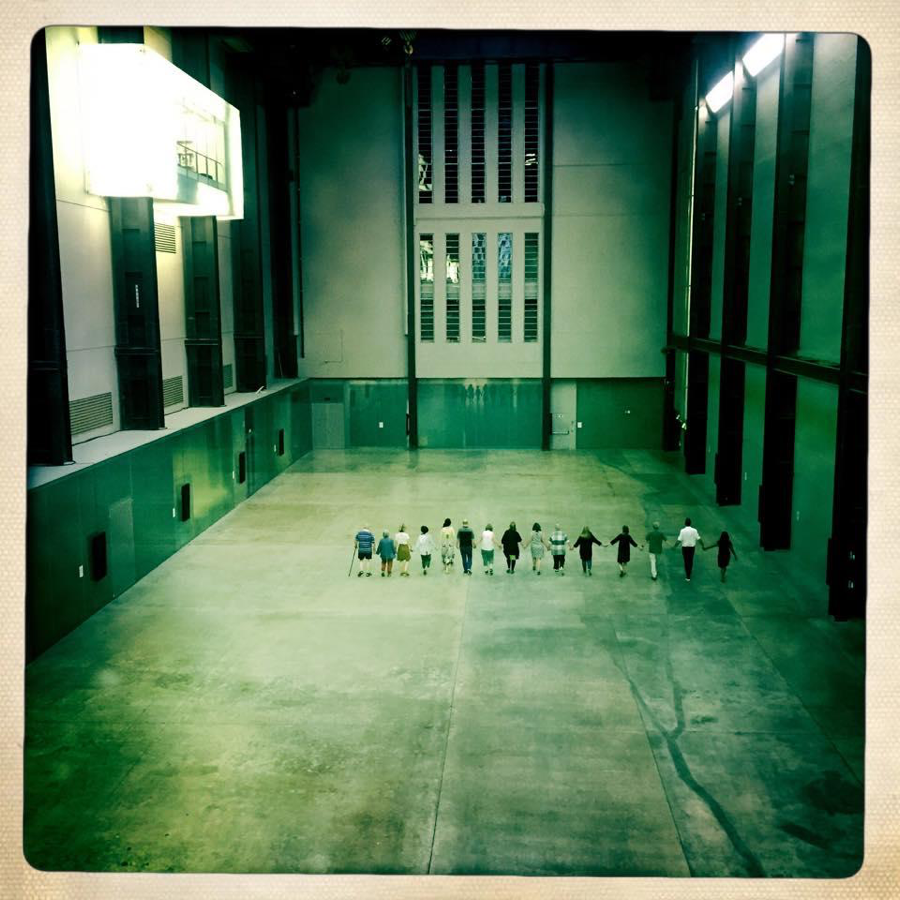 Claire Hind, Walking the Turbine Hall, Ways to Wander the Gallery, Tate Modern