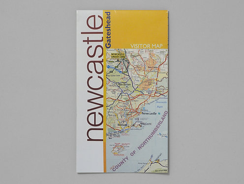 Layla Curtis | NewcastleGateshead (folded map)