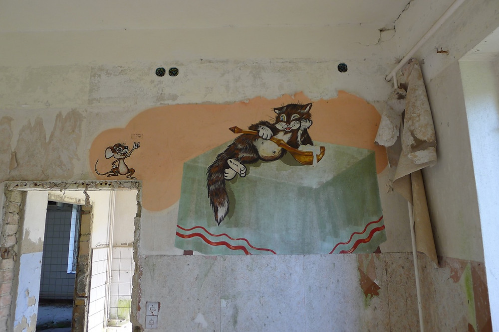Peter Cusack | Edgework Journal, Vogelsang, Cat and mouse mural
