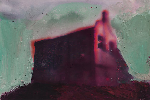 Lee Maelzer | Hollow House, Green Sky