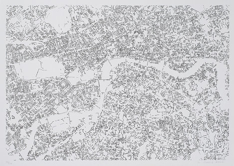 Layla Curtis | Central London Index Drawing