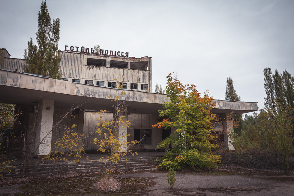 Chernobyl as a site of dark tourism