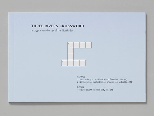 Alec Finlay | Three Rivers Crossword