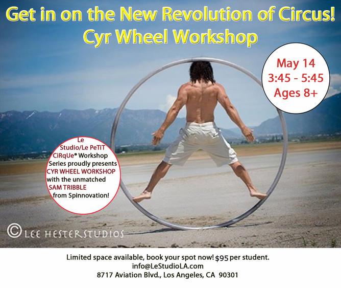 Cyr Wheel Workshop Spots Going Fast!