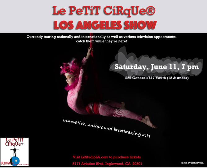 Le Petit Cirque Performs in Los Angeles!