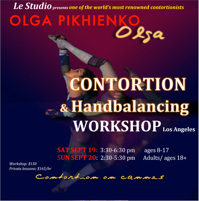 Contortion & Canes Workshop