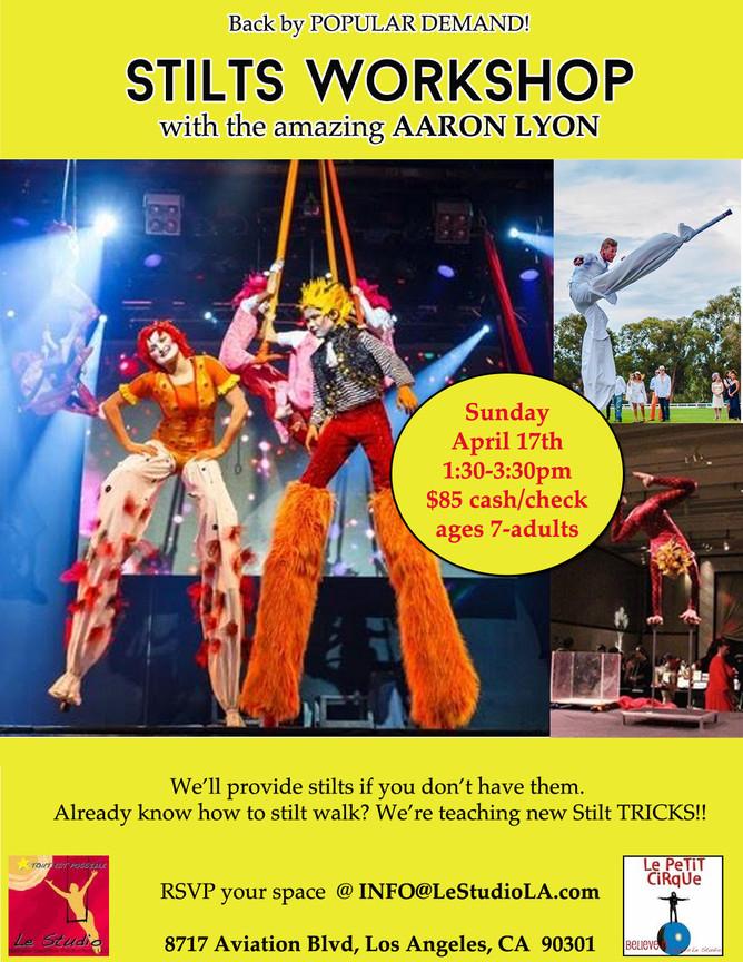 Join Us for Fun Stilts Workshop!