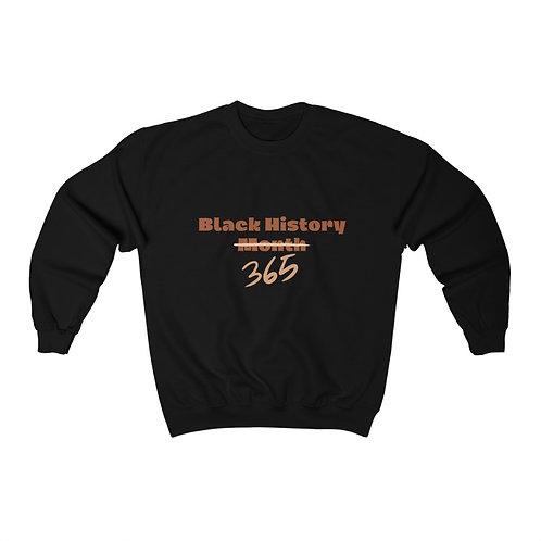 Black 365 Crew Sweatshirt
