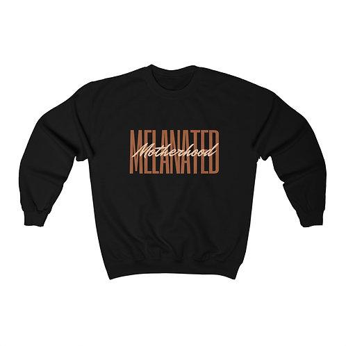 Melanated Motherhood Crew Sweatshirt