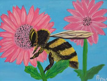 Pequeña dulce abeja