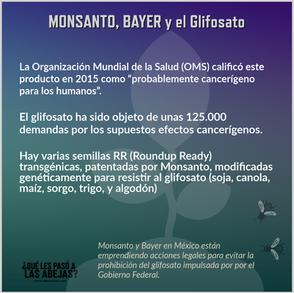 Monsanto, Bayer y el Glifosato