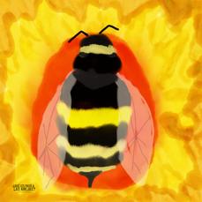 La siesta de la abeja I - Simona Conteras