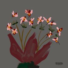 Una fiesta en flor - Simona Contreras