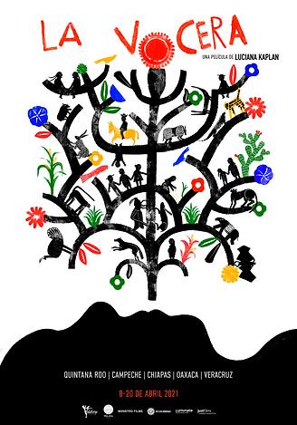 RUTA 1-cartel la vocera comunitario logo