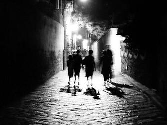 Pellegrinaggio notturno a Piacenza