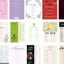 menü-layout-design