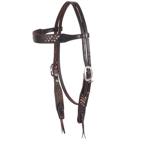 Antique Dots Headstall