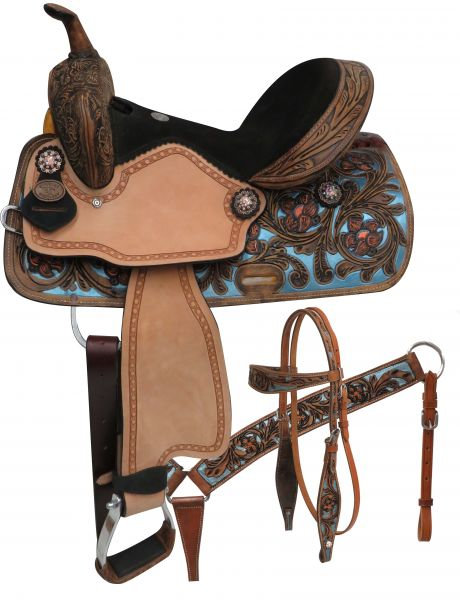Double T Barrel Saddle Package
