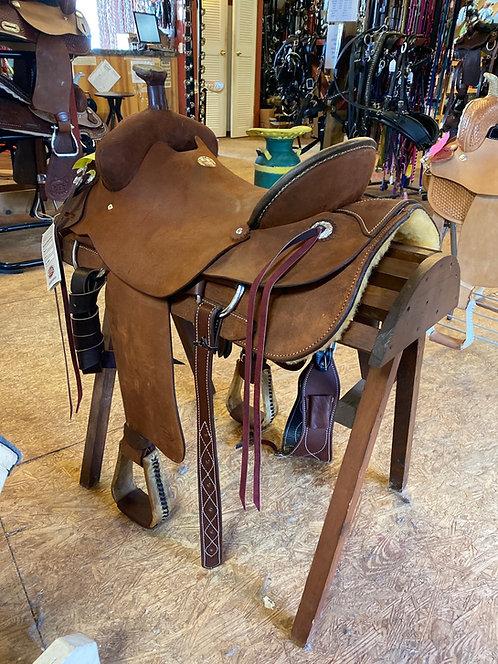 Roping Saddle Full QH Bars